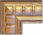 Chateau Brass Antique Concave Rounded framing