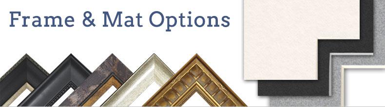 Frame and Mat Options at Liebermans.net