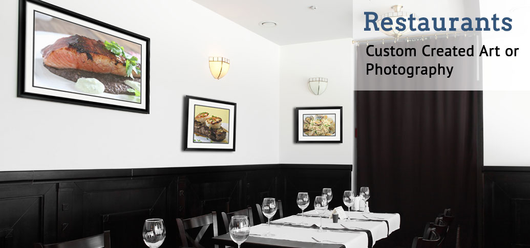 Custom Restaurant Framing