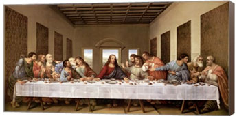 Bulk Last Supper Canvas Art