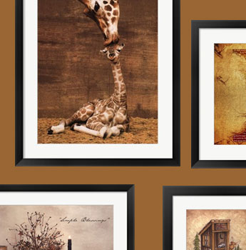 Brown Art Prints