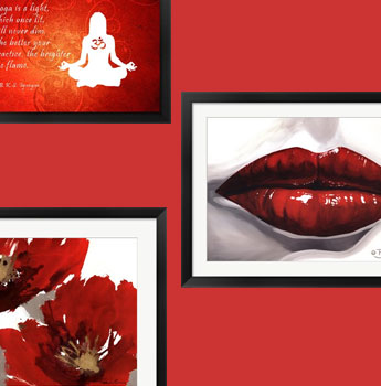 Red Wholesale Art