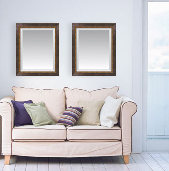 Discounted Custom Living Room Mirrors