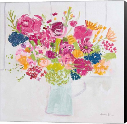 Framed Bouquet for You Bright Print