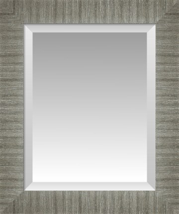 zoom - Brushed Nickel Mirror