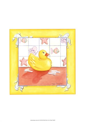 Framed Rubber Duck (D) I Print
