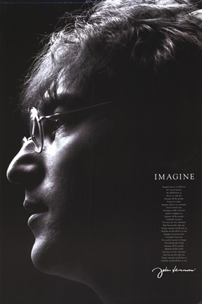 Framed John Lennon - Imagine Print