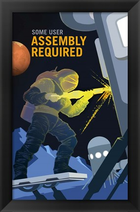 Framed Assembly Required Print