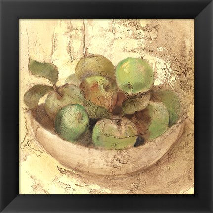 Framed Sunlit Apples Print