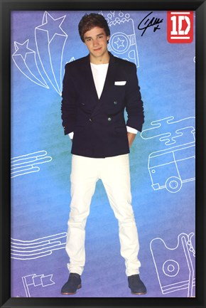 Framed One Direction - Liam - Pop Print