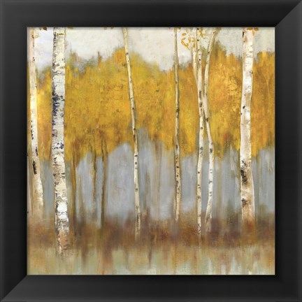 Framed Golden Grove II Print