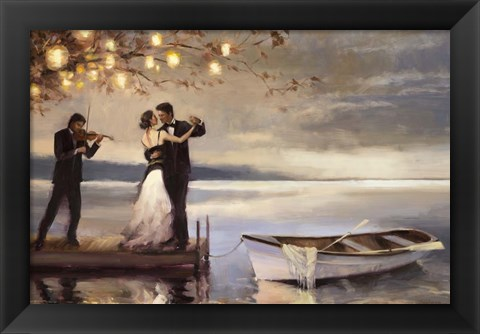 Framed Twilight Romance Print